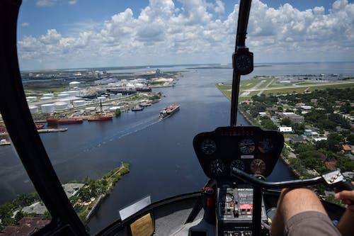 Foto stok gratis air, awan, biru, florida