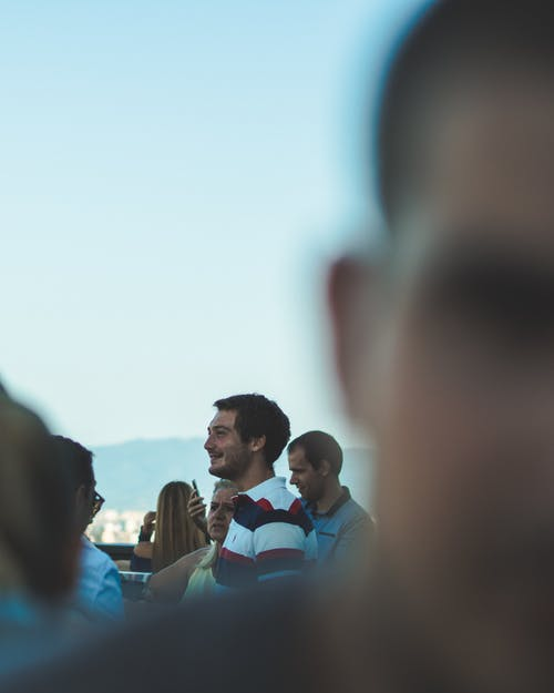 Free stock photo of crowd, day, man, people