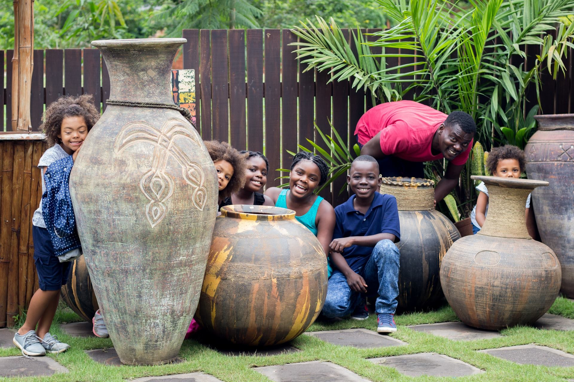 Free stock photo of Beautiful with Africa Craft work pot design
