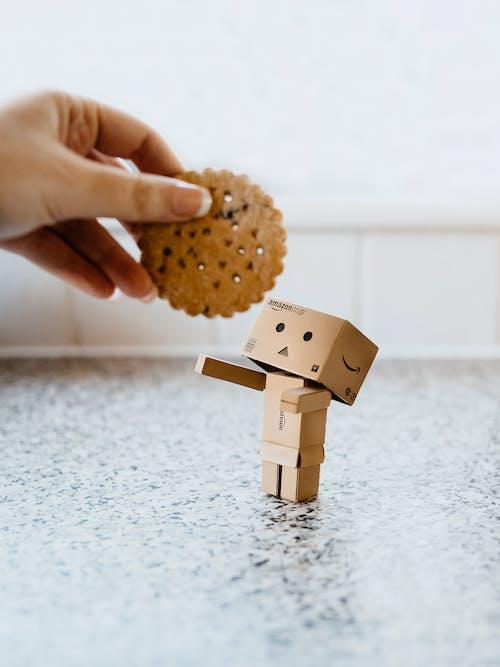 Immagine gratuita di adulto, bambino, biscotto