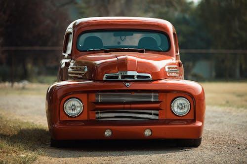 Ingyenes stockfotó autó, egyedi teherautó, elölnézet témában