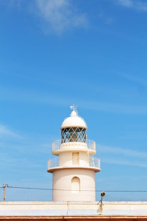 White Concrete Lighthouse