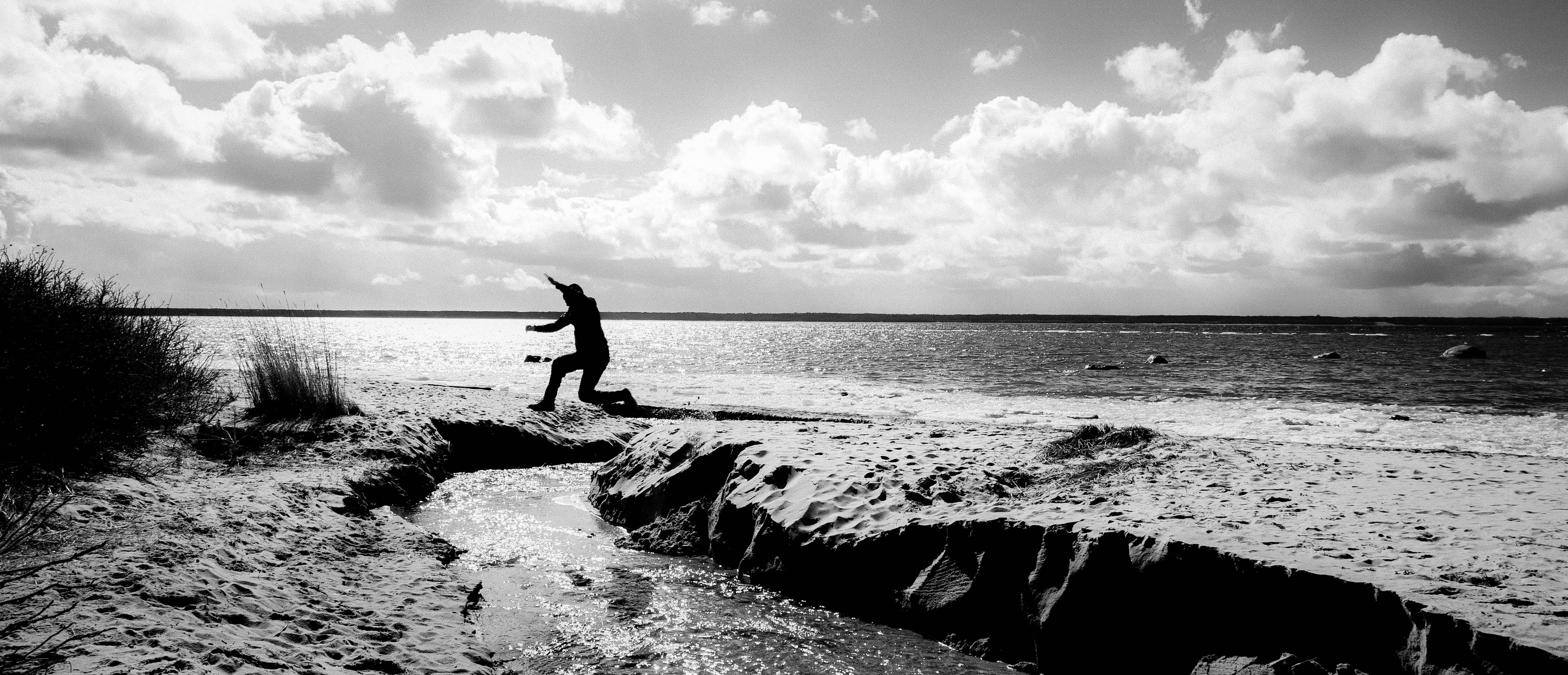 Gratis stockfoto met afgetekend, golven, h2o, hemel