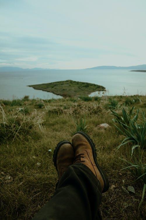 Darmowe zdjęcie z galerii z but, część, jezioro