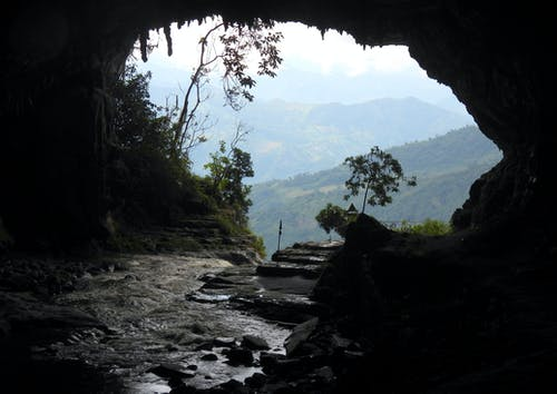 Foto profissional grátis de caverna