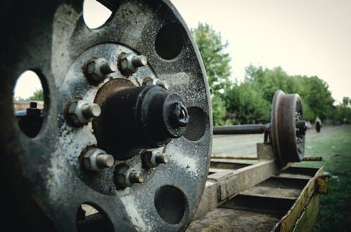 扶手, 火車, 路, 車輪 的 免费素材照片