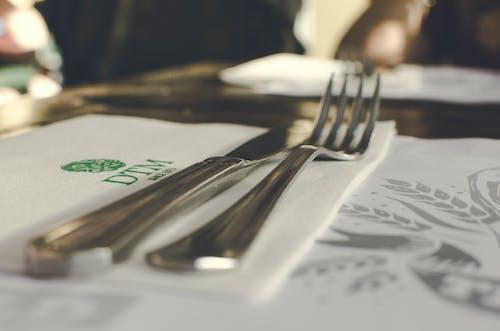 叉子, 晚餐, 餐 的 免费素材照片