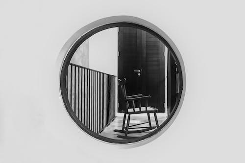 Foto d'estoc gratuïta de balanceig, barrera, blanc i negre
