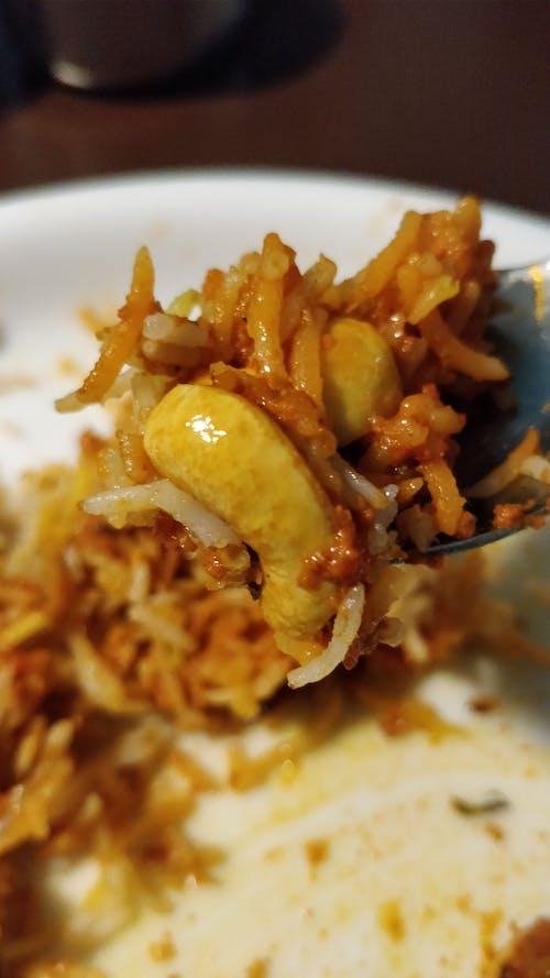 Fotobanka sbezplatnými fotkami na tému biryani, biryani rice, kaju biryani, kajute