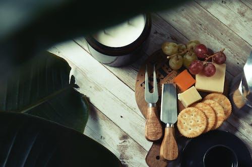 Free stock photo of apple, bottle, charcuterie board
