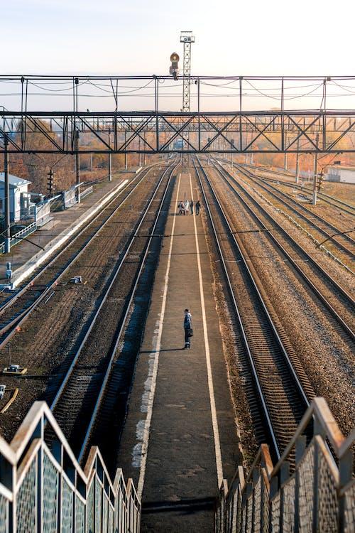 Platform on Train Station
