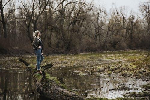 原本, 反射, 天氣, 女人 的 免費圖庫相片