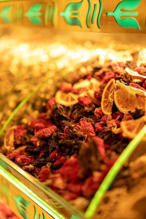 Free stock photo of herbal tea, pomegranate