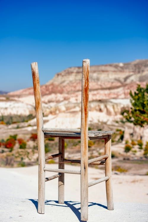 Free stock photo of architecture, beach, chair