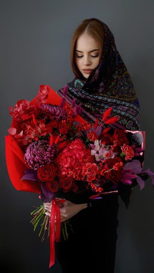 Foto stok gratis besar, buket, bunga-bunga