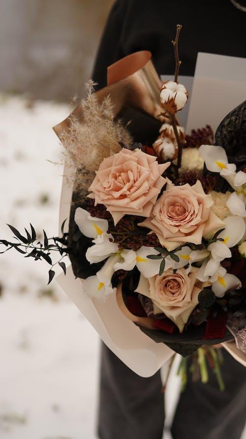 Immagine gratuita di bianco, bouquet, carta
