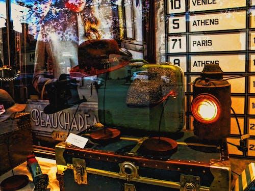 Gratis lagerfoto af årgang, butiksvinduer, Canada, efterårsdekoration