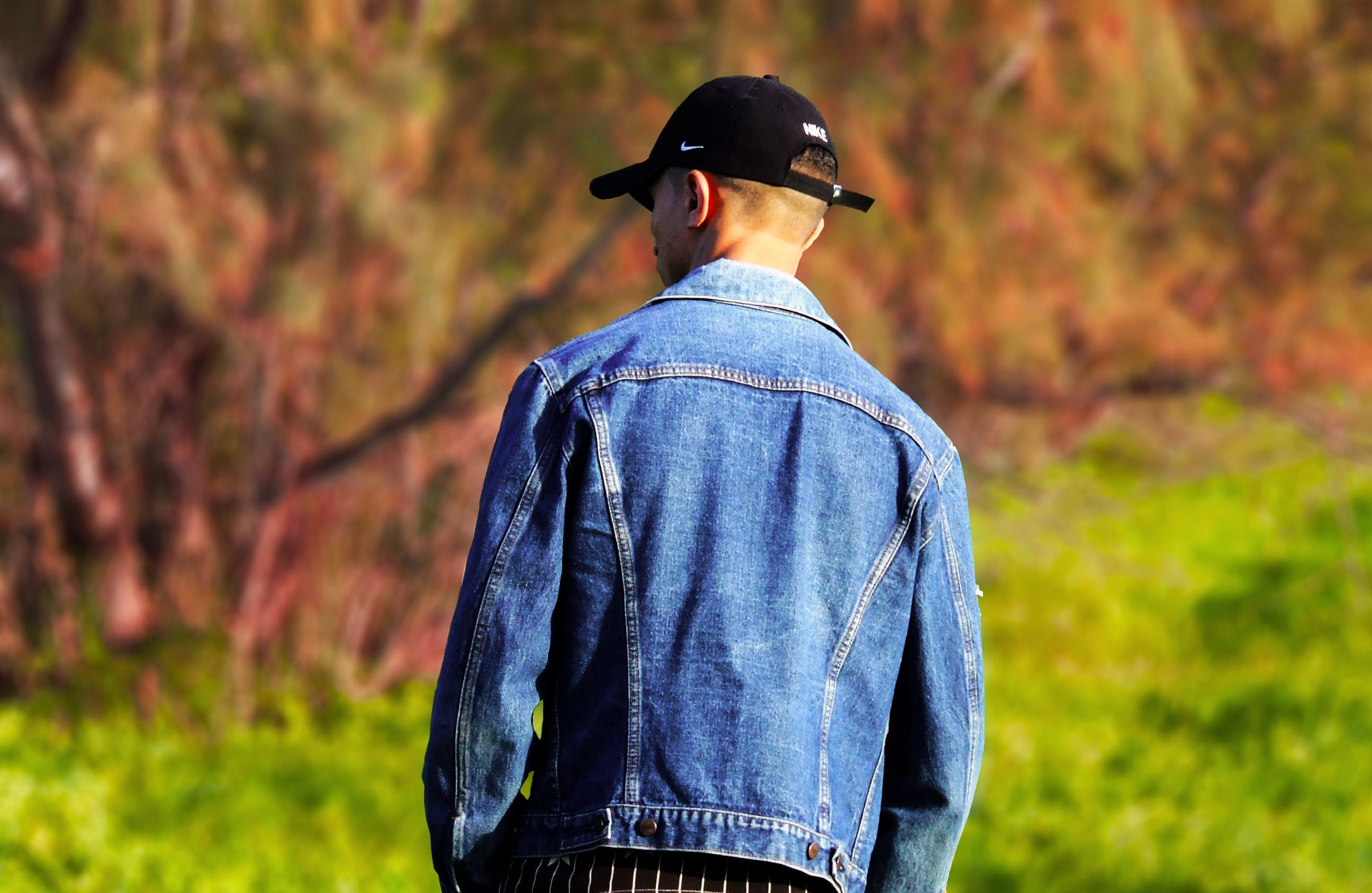 Free stock photo of cap, fashion, look, looking away