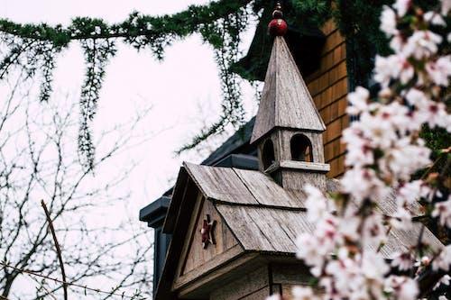 Foto stok gratis agama, Arsitektur, atap, awan