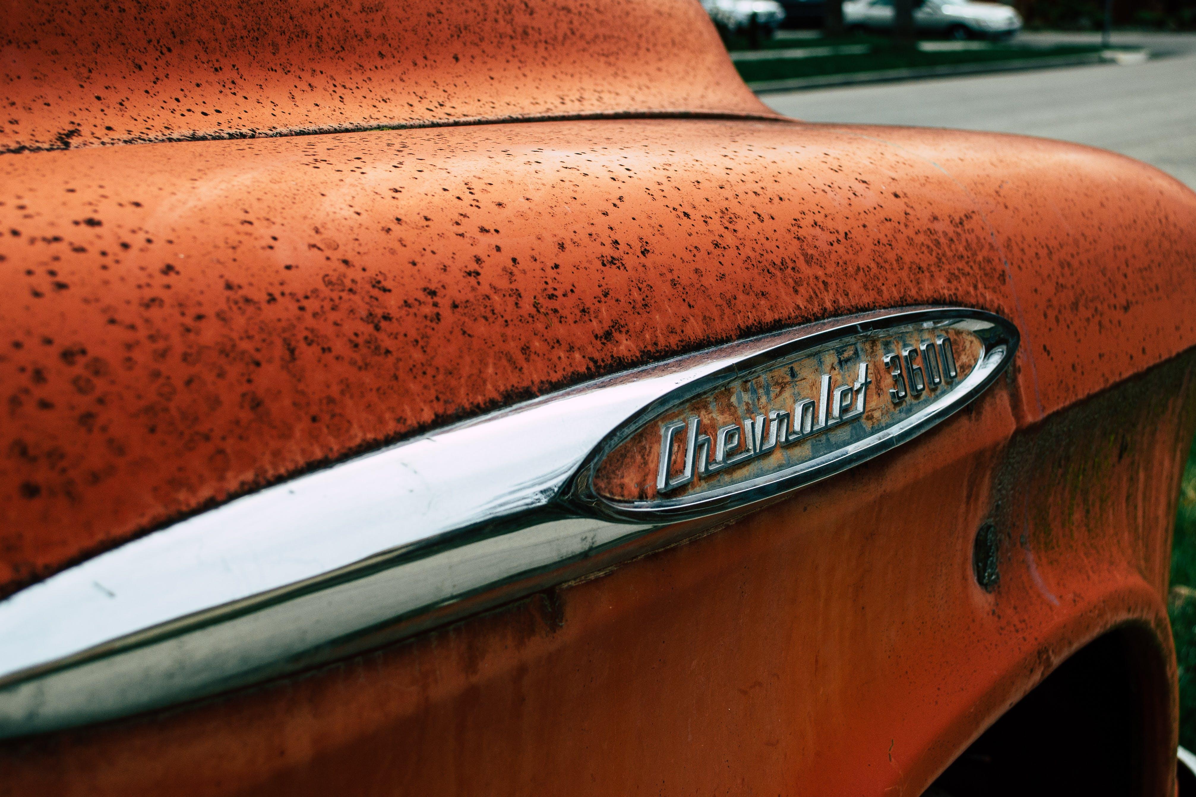 Closeup Photo of Chevrolet 3600 Car