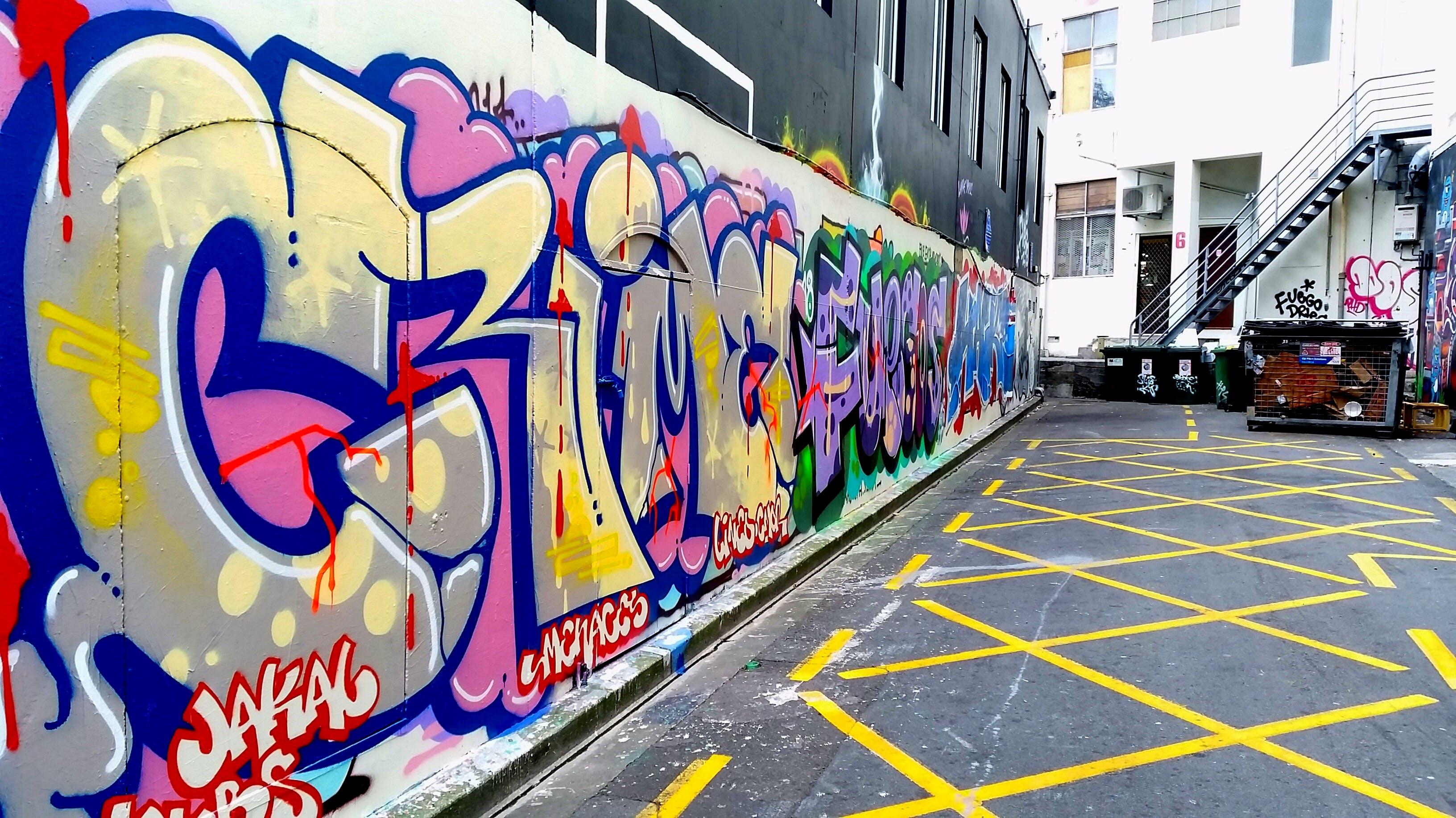 Free stock photo of street, graffiti, dirty, alley