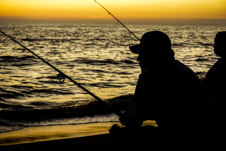 Δωρεάν στοκ φωτογραφιών με αριθμός, σκιά, σκοτάδι, ψαράς