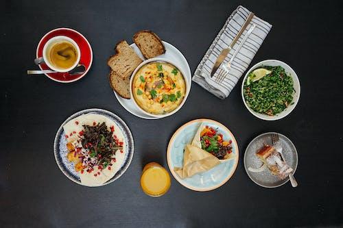 Ilmainen kuvapankkikuva tunnisteilla Aamiainen, asetelma, ateria