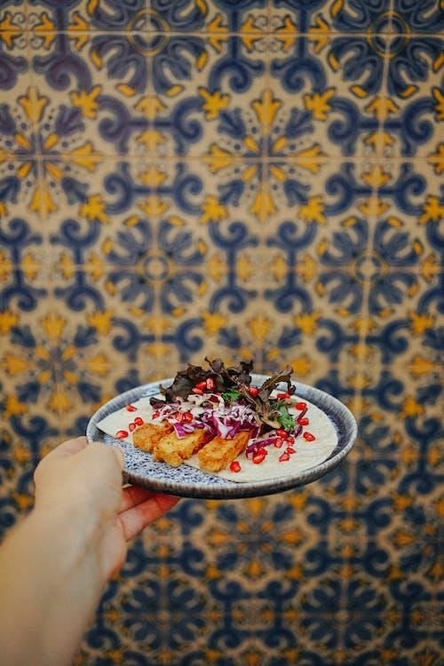 Kostnadsfri bild av äta nyttigt, bord, bricka