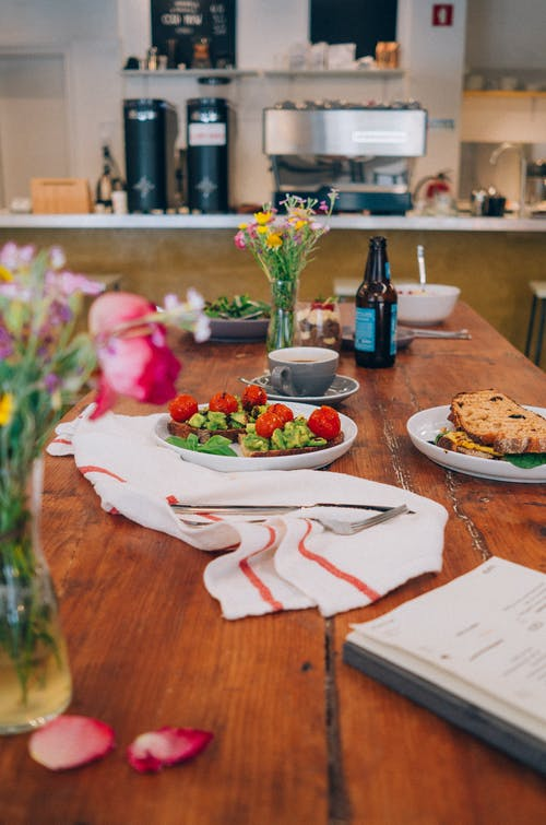 Photos gratuites de à l'intérieur, aliments, assiette