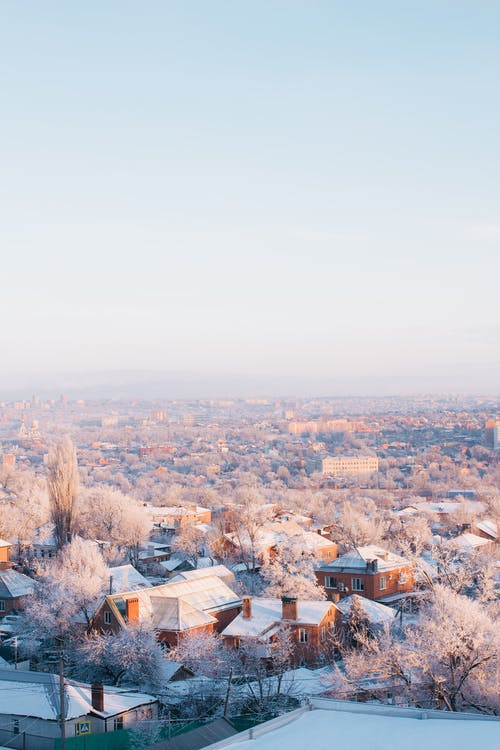 City View in Winter