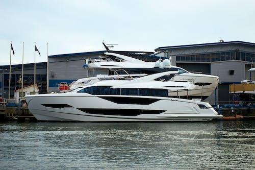 Free stock photo of boat, harbor, luxury