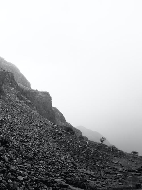 Immagine gratuita di bianco e nero, montagna