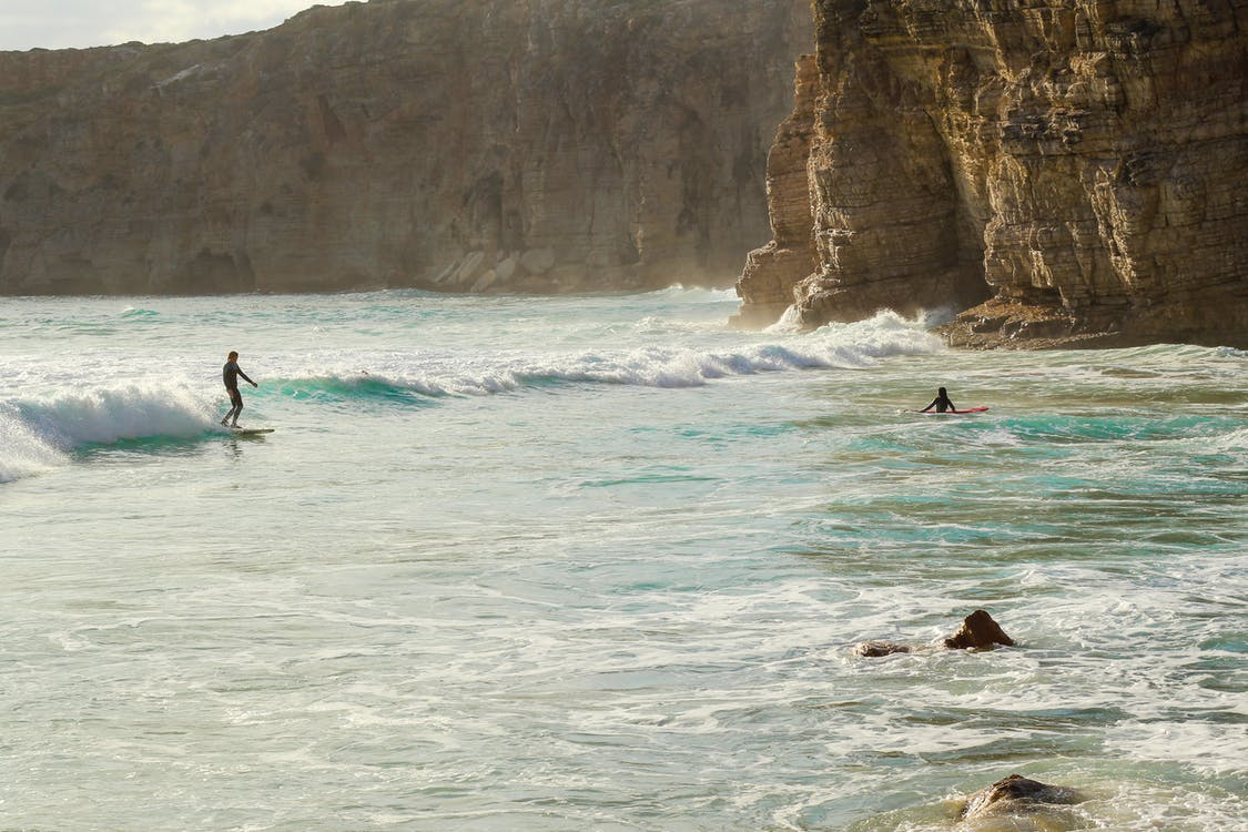 Photo of People Surfing