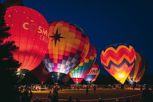 Darmowe zdjęcie z galerii z balon, balon na gorące powietrze, festiwal
