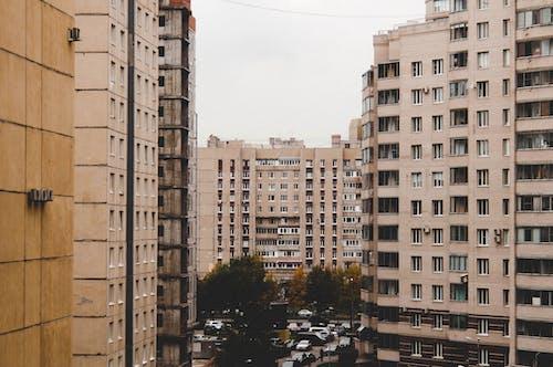 Foto stok gratis abu, Abu-abu, Arsitektur