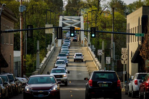 Foto stok gratis angkutan, jalan, jembatan