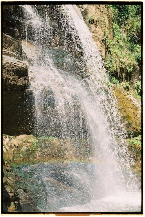 Flowing Water of Waterfall