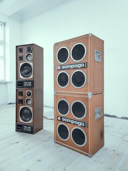 Kostnadsfri bild av bas, bashögtalare, elektronik