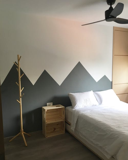 Photos gratuites de blanc, chambre, chambre à coucher