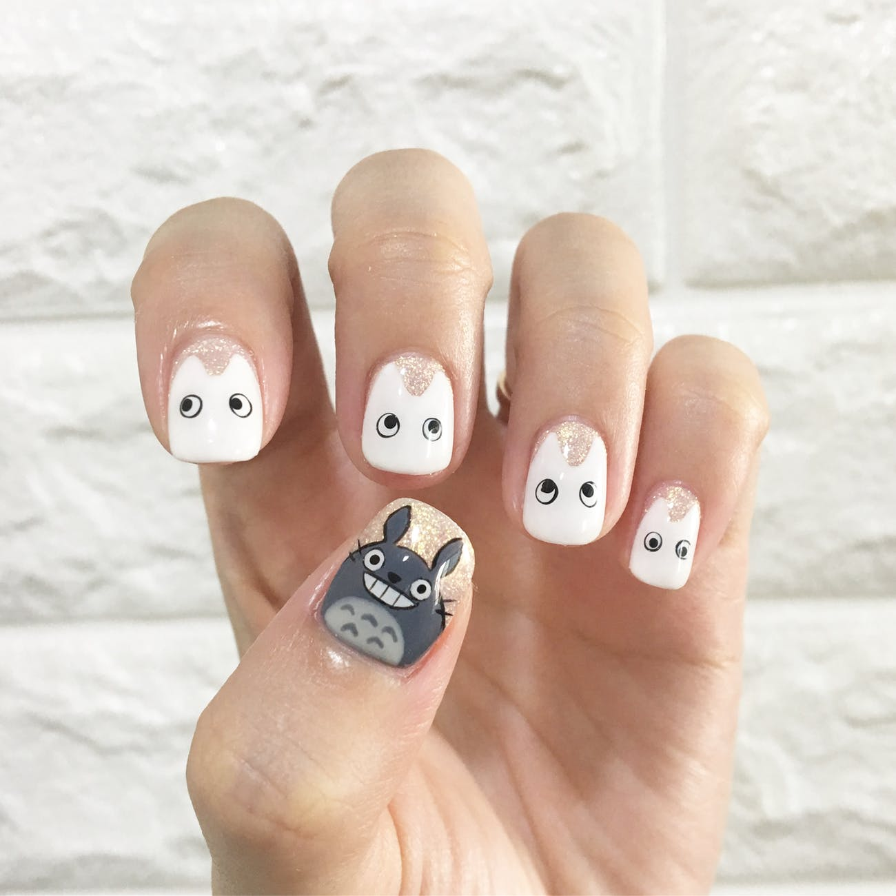 Check out Cute Easy Nail Designs | Japanese Emoji Nail Art Tutorial at https://cuteoutfits.com/japanese-emoji-cute-easy-nail-designs/