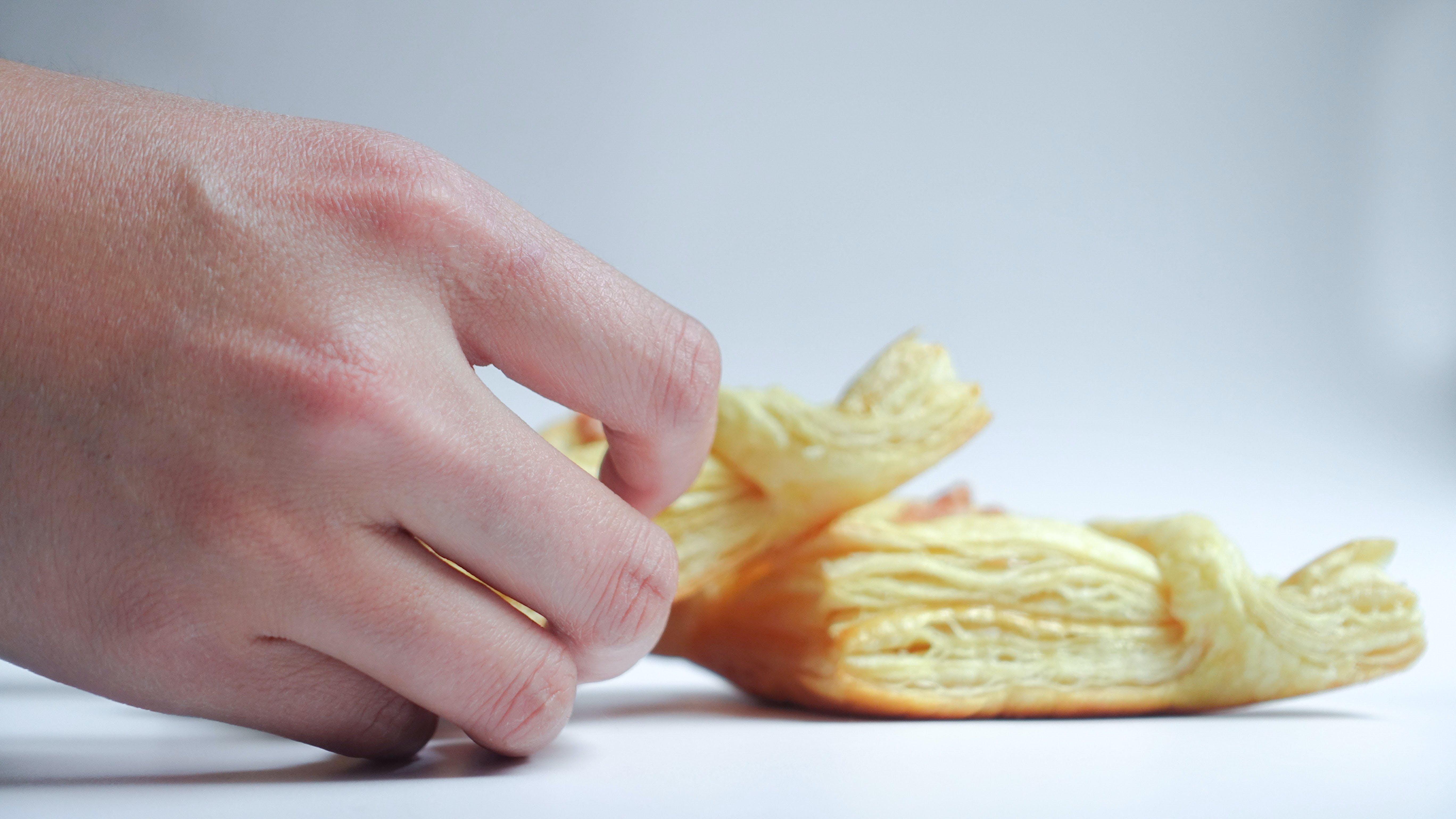 Free stock photo of bread, hand