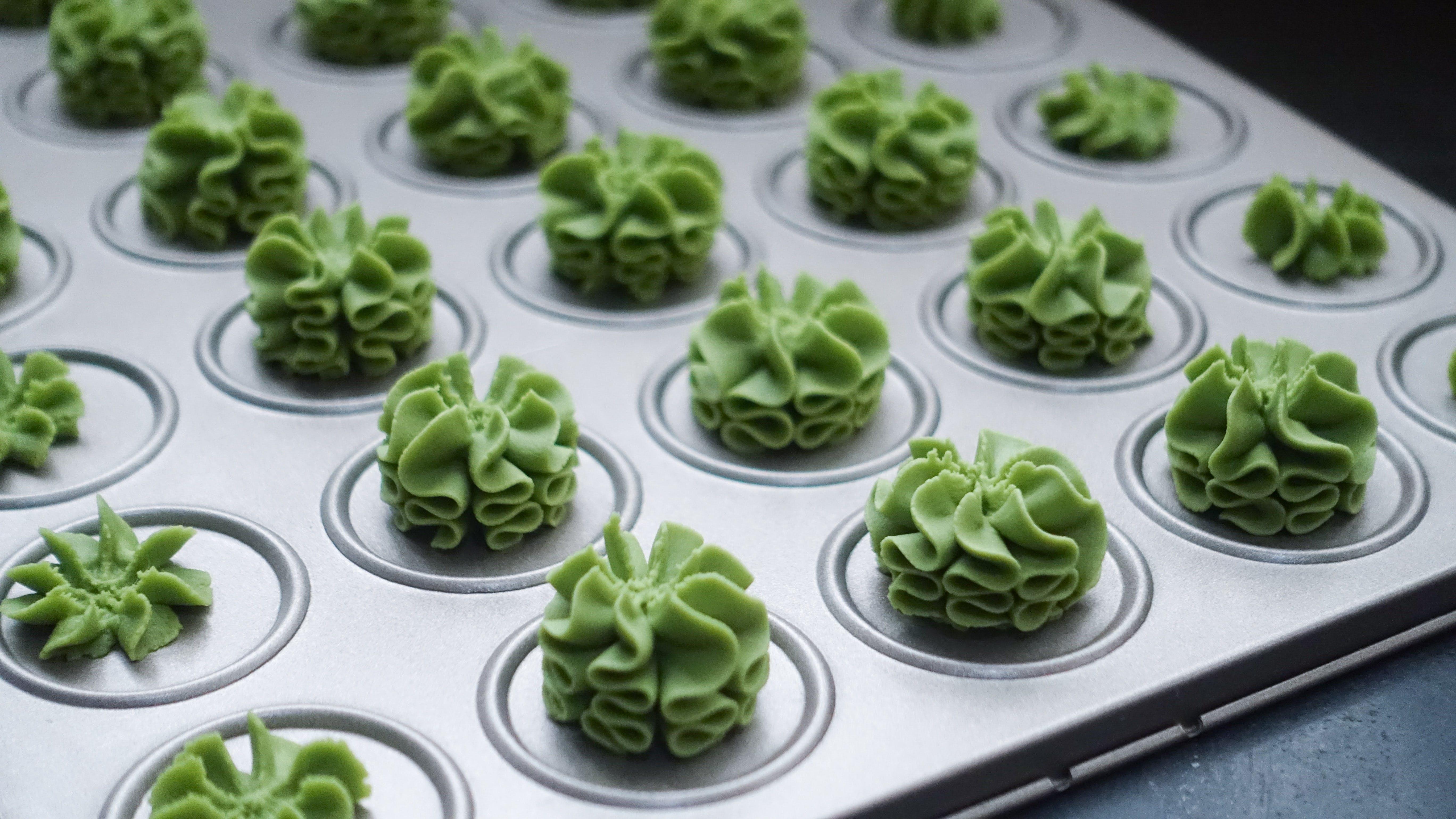 Green Cupcake Lot