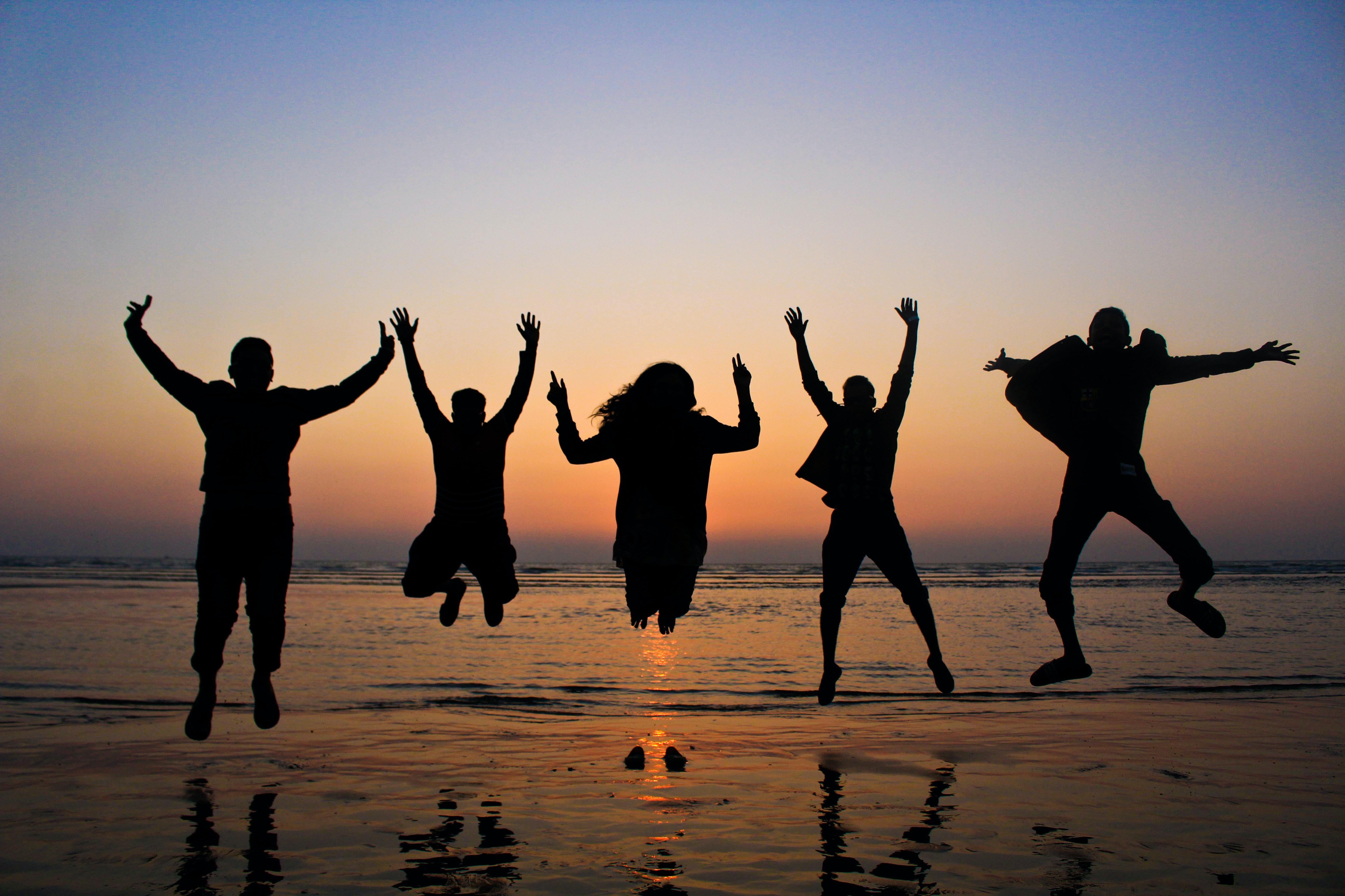 Kostenloses Foto zum Thema: freunde, freundschaft, glück