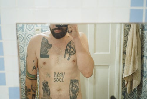あごひげ, インドア, おとこの無料の写真素材