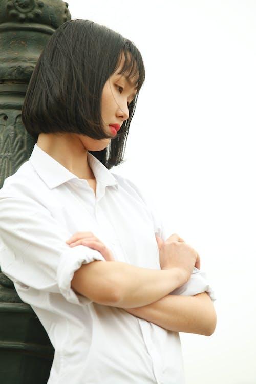 Základová fotografie zdarma na téma asiatka, asijská holka, denní světlo, dívání