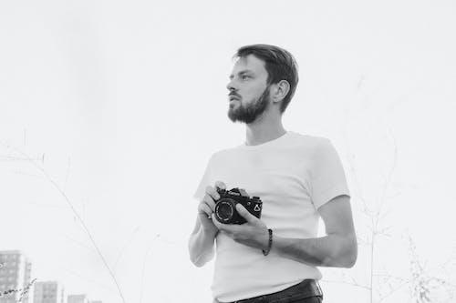 Model Posing with Analog Camera