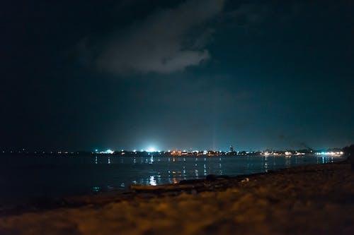 Kostenloses Stock Foto zu nacht, strand