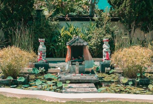 Kostenloses Stock Foto zu balinesischer tempel, gras bali