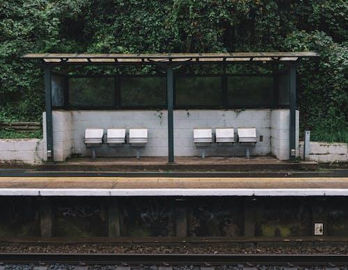 Immagine gratuita di assenza, esterno, ferrovia
