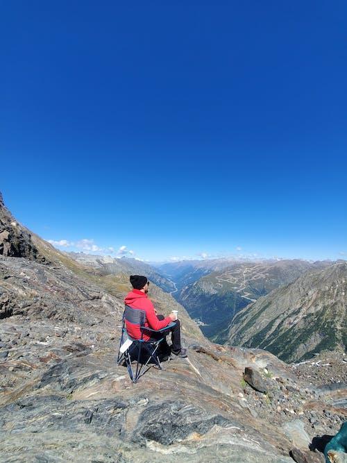 Free stock photo of adventure, climb, high